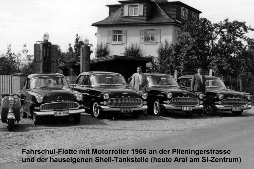 Fahrschul-Flotte 50er Jahre