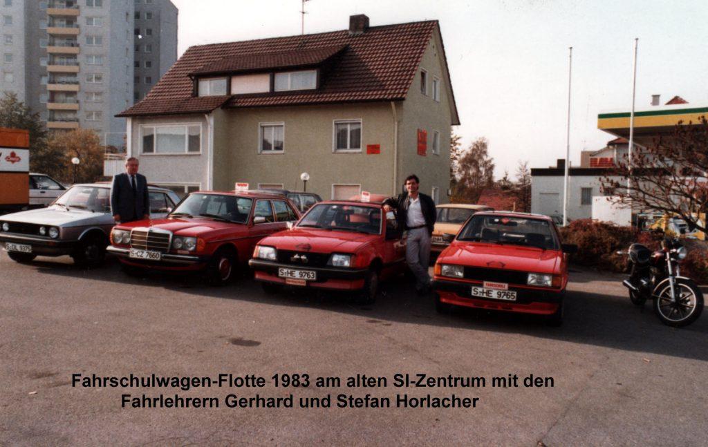 Fahrschulwagen-Flotte 1983
